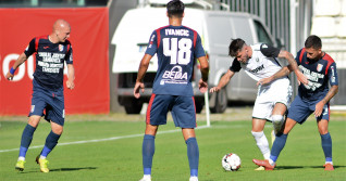 FOTBAL:CHINDIA TARGOVISTE-FC VOLUNTARI, PLAY OUT, LIGA 1 CASA PARIURILOR (5.08.2020)