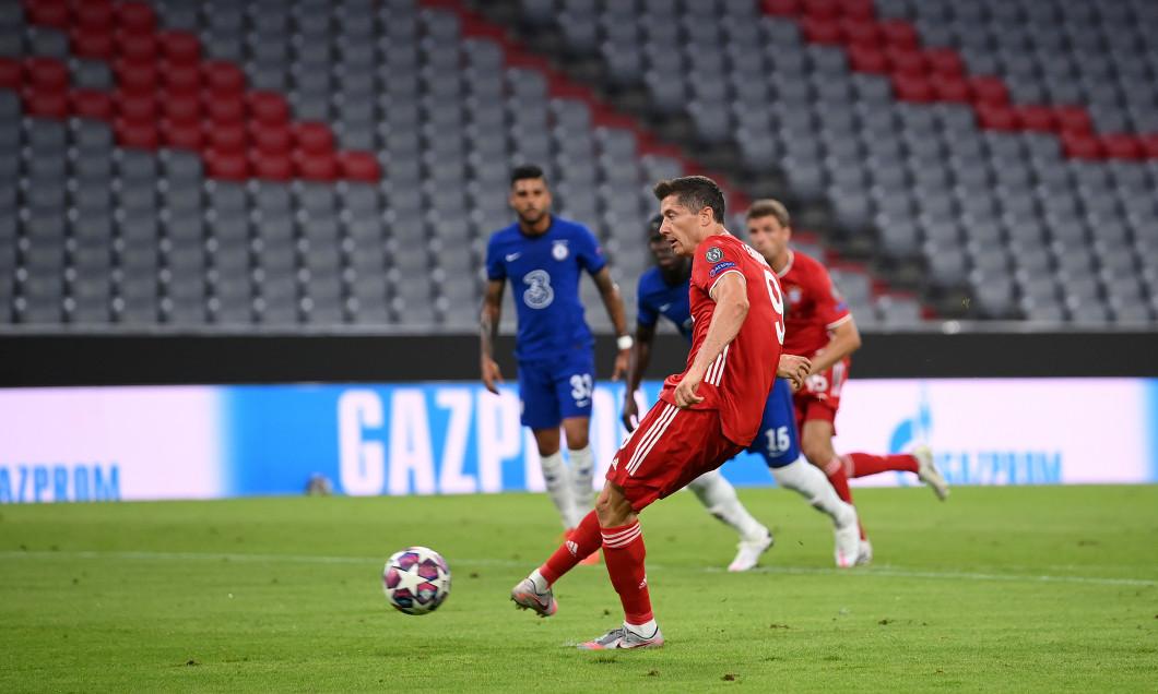 Lewandowski vs Chelsea