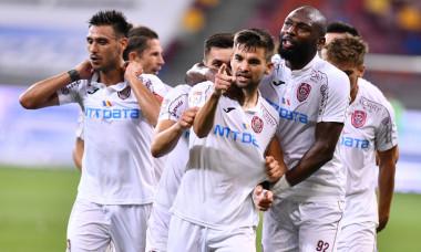 Jucătorii de la CFR Cluj, în meciul cu FCSB / Foto: Jucătorii de la CFR Cluj, în meciul cu FCSB / Foto: Sport PicturesSport Pictures