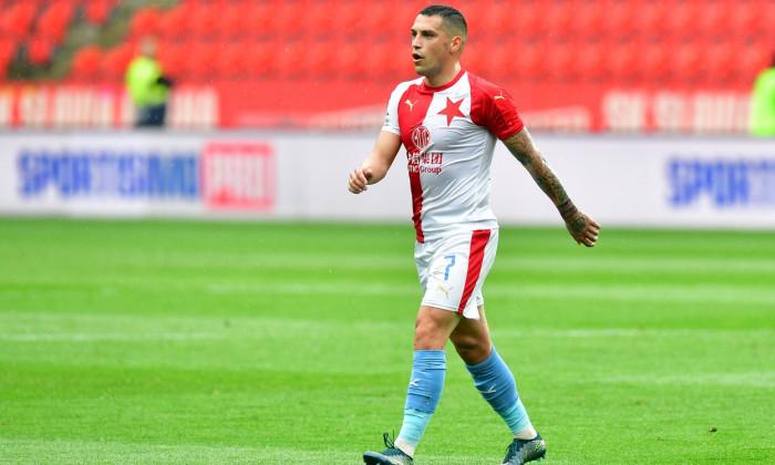 Fotbal - Fortuna liga - 19/20 - Nadstavba - Slavia - Sparta, 0:0, 8. 7. 2020