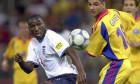Fußball-EM 2000: England - Rumänien 2:3