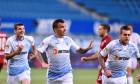 Jucătorii Universității Craiova, în meciul cu CFR Cluj / Foto: Sport Pictures