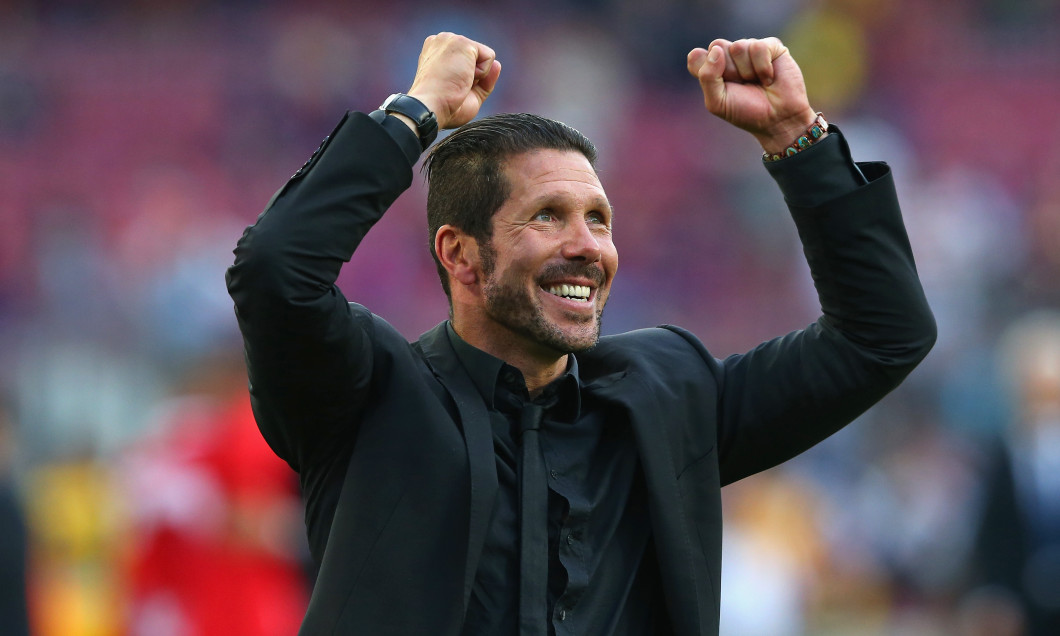 Diego Simeone, antrenorul lui Atletico Madrid / Foto: Getty Images