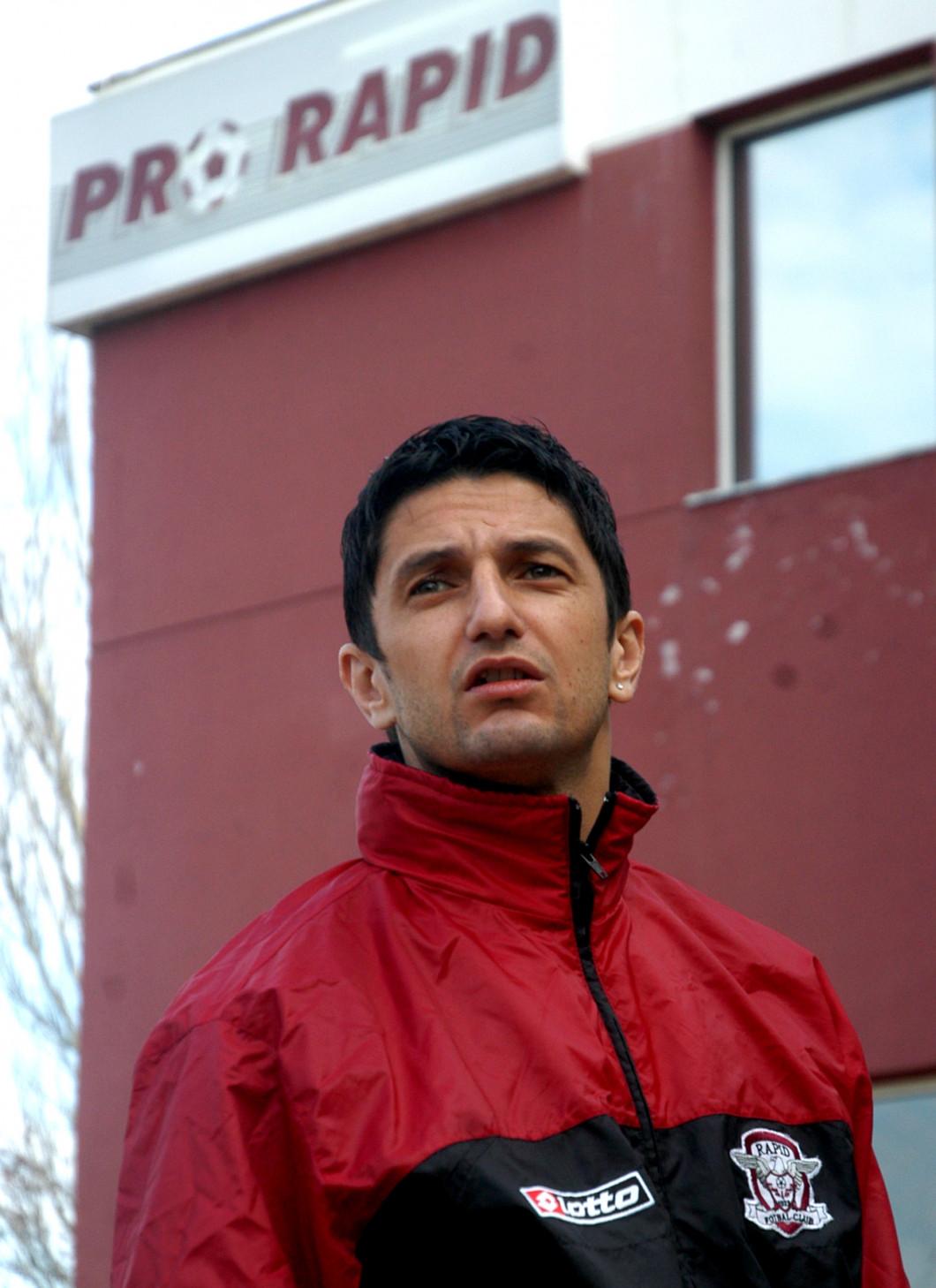 FOTBAL:ANTRENAMENT RAPID BUCURESTI (10.01.2007)