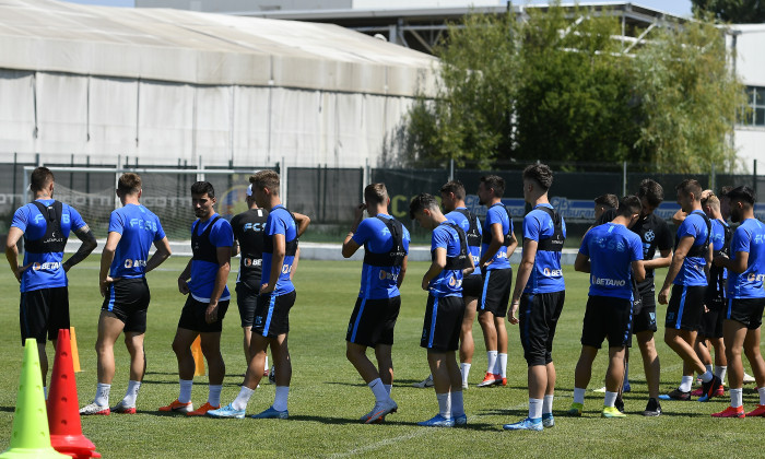 Jucătorii de la FCSB, în timpul unei ședințe de pregătire / Foto: Sport Pictures