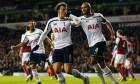Vlad Chiricheș, după un gol marcat pentru Tottenham / Foto: Getty Images