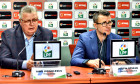 Gino Iorgulescu, președintele LPF, și Justin Ștefan, secretarul general / Foto: Sport Pictures