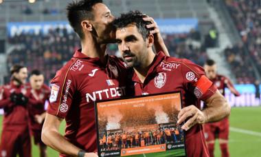 Emmanuel Culio, înaintea meciului cu Astra, ultimul jucat pentru CFR la Cluj / Foto: Sport Pictures