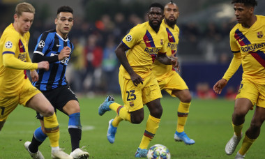Internazionale v FC Barcelona - UEFA Champions League - Group F - Giuseppe Meazza