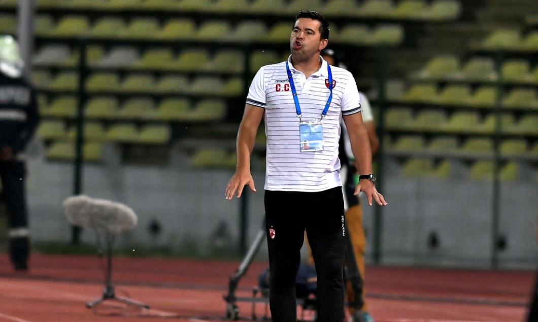 Cosmin Contra, în perioada în care a antrenat Dinamo / Foto: Sport Pictures