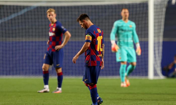 Lionel Messi, după meciul cu Bayern / Foto: Getty Images