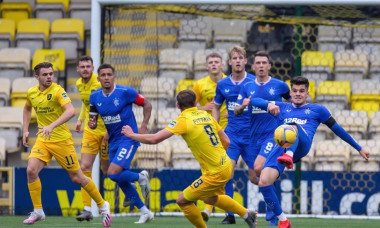 Livingston v Rangers, Scottish Premiership, Football, Tony Macaroni Arena, Livingston, Scotland, UK - 16 Aug 2020