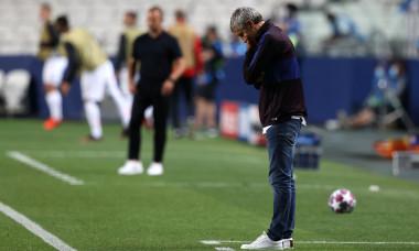 Quique Setien, antrenorul Barcelonei / Foto: Getty Images