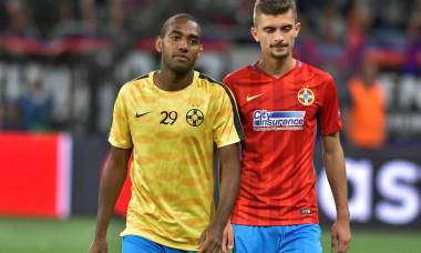 William de Amorim, alături de Florin Tănase / Foto: Sport Pictures