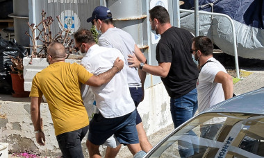 Manchester United's Harry Maguire arrested, Syros Island, Greece - 21 Aug 2020