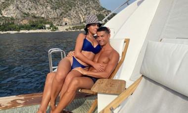 ronaldo georgina yacht