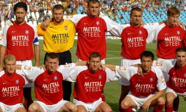 FOTBAL:OTELUL GALATI-SLAVIA SARAJEVO 3-0 (14.07.2007)