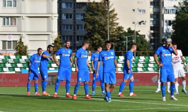 Fotbaliștii Craiovei, în meciul cu Sepsi / Foto: Sport Pictures