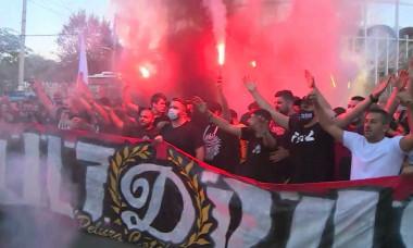 Suporterii echipei Dinamo / Foto: Captură Digi Sport