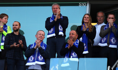 Roman Abramovich, în tribune la un meci jucat de Chelsea / Foto: Getty Images