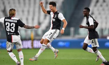 Cristiano Ronaldo, după un gol marcat pentru Juventus / Foto: Getty Images