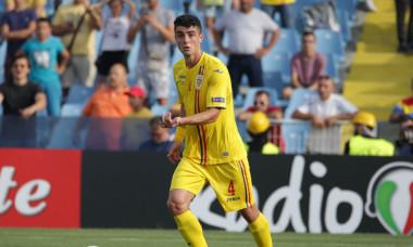 Alex Pașcanu, fundașul naționalei de tineret / Foto: Sport Pictures