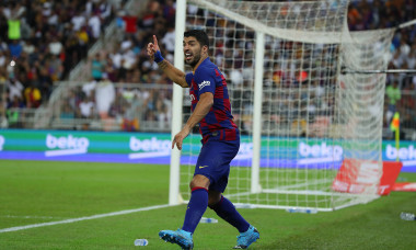 Luis Suarez, în tricoul Barcelonei / Foto: Getty Images