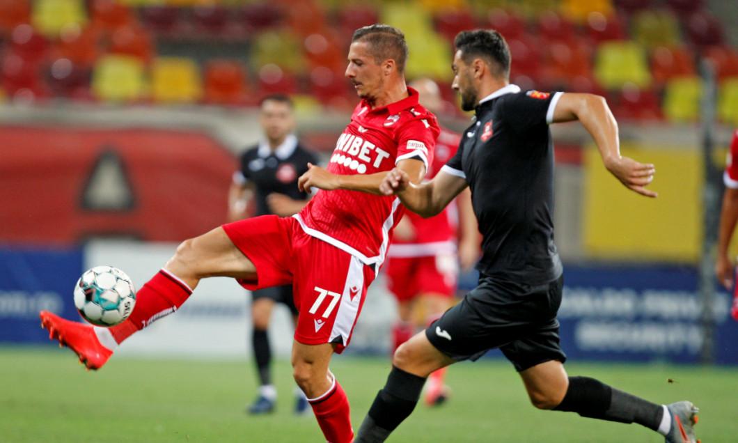 Vlad Achim, în meciul dintre Dinamo și Hermannstadt / Foto: Sport Pictures