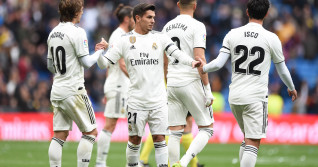 Brahim Diaz (nr. 21), în tricoul lui Real Madrid / Foto: Getty Images