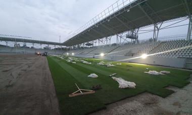 stadion arcul de triumf cadru pe lat