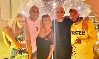 Wanda, Icardi, Neymar, Navas