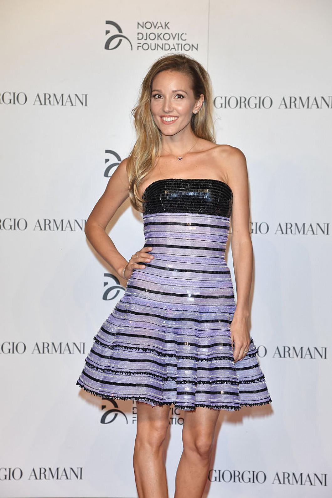 Tennis Meets Fashion At The Milano Gala Dinner Benefitting The Novak Djokovic Foundation Presented By Giorgio Armani