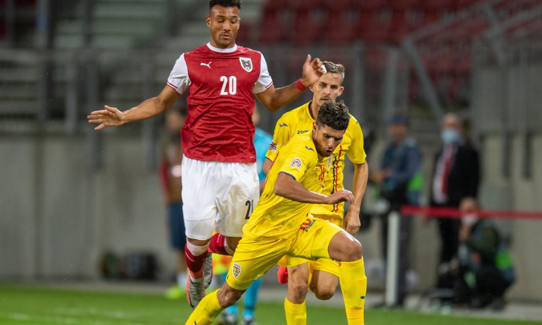 Florinel Coman, în meciul cu Austria / Foto: Sport Pictures