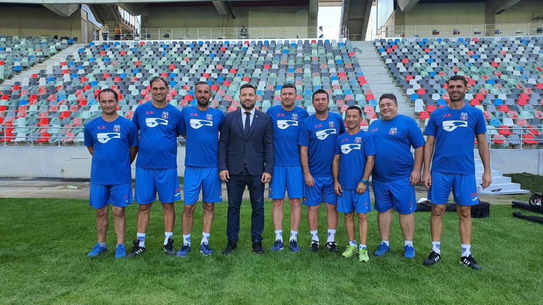 prezentare staff CSA Steaua