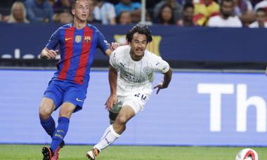 Juan Camara, noul transfer al lui Dinamo, în tricoul Barcelonei / Foto: Getty Images