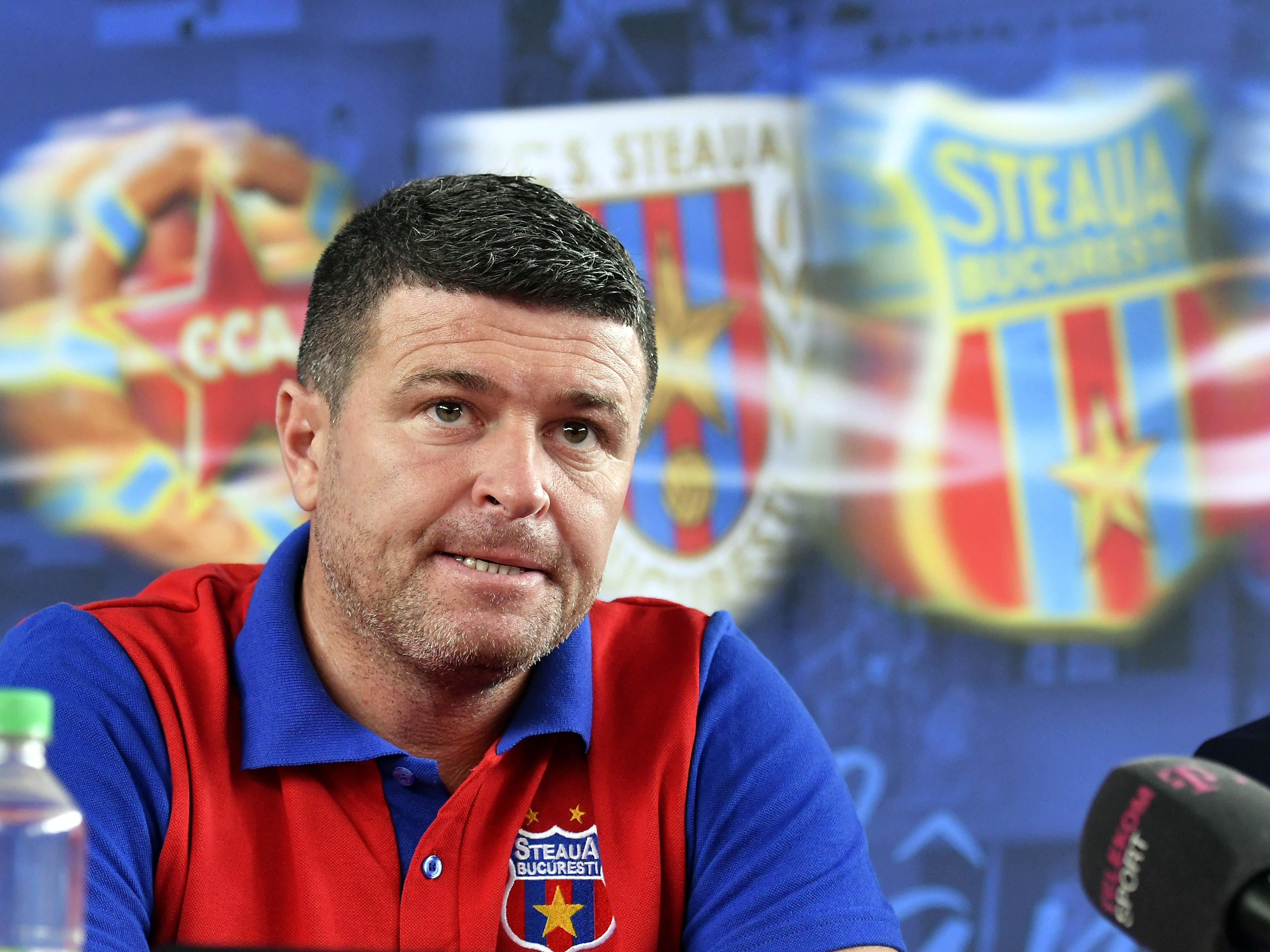 """Situație tensionată la CSA Steaua! Reacția lui Daniel Oprița după venirea lui George Ogăraru: """"Nu colaborez cu nimeni"""""""