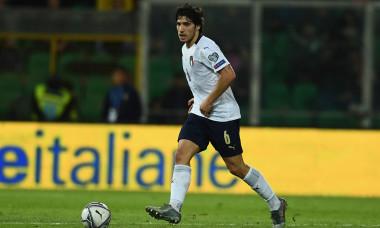 Sandro Tonali, în tricoul naționalei Italiei / Foto: Getty Images