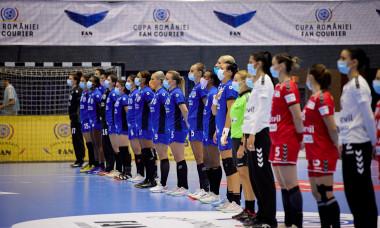 Finala Cupei României s-a jucat între CSM București și SCM Râmnicu Vâlcea / Foto: Sport Pictures