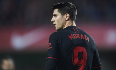 Alvaro Morata, atacantul lui Atletico Madrid / Foto: Getty Images
