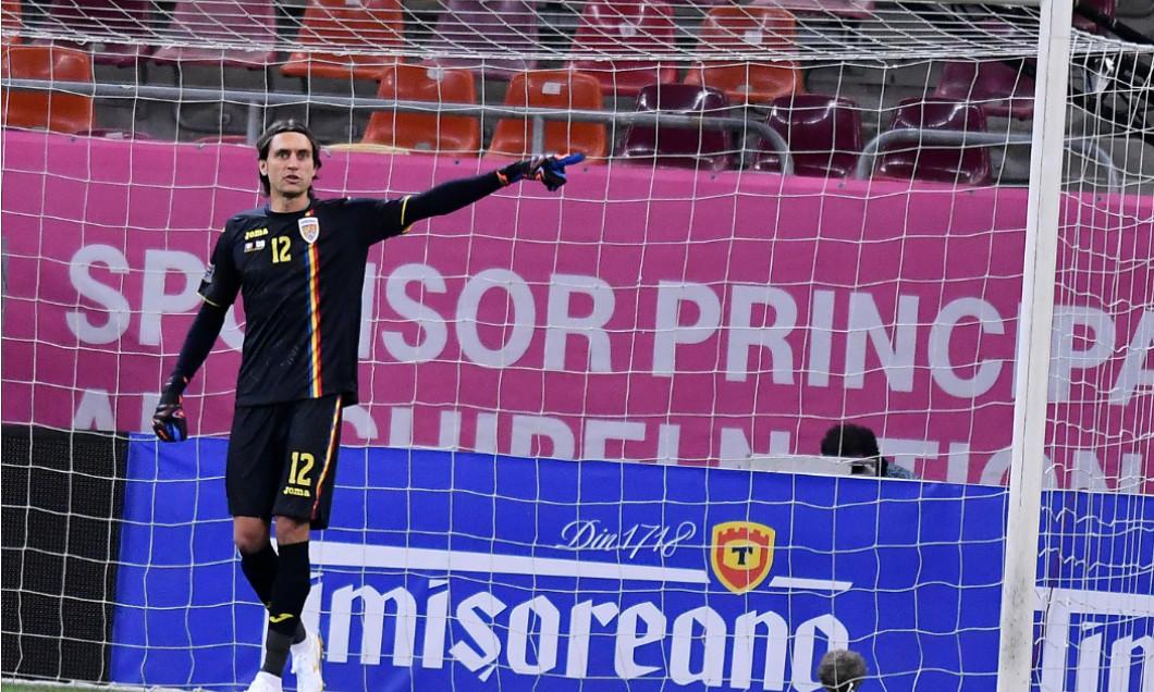 Ciprian Tătărușanu, în meciul dintre România și Irlanda de Nord / Foto: Sport Pictures