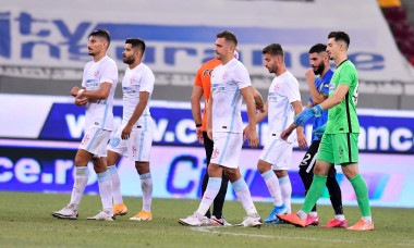 Fotbaliștii de la FCSB, după succesul, scor 3-0, cu Viitorul / Foto: Sport Pictures
