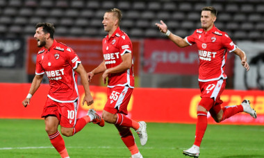 Borja Valle, după golul marcat în meciul cu FC Botoșani / Foto: Sport Pictures