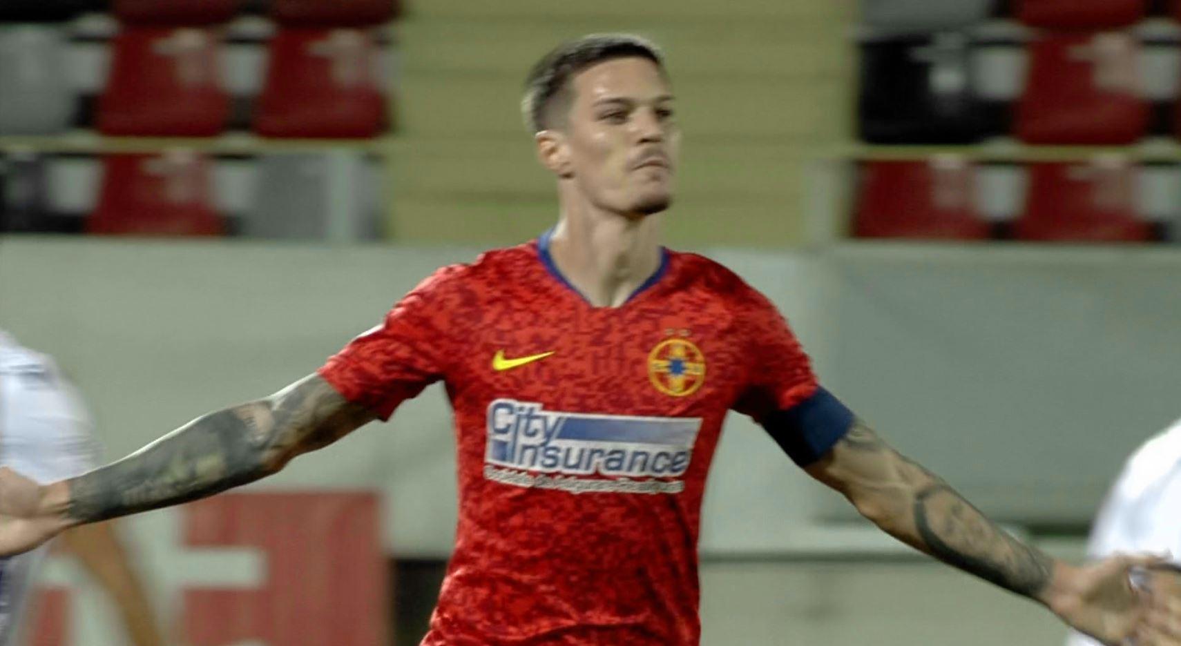 """Man, două """"hat-trick-uri"""" în patru zile! Internaționalul român a bătut-o de unul singur pe FC Argeș"""