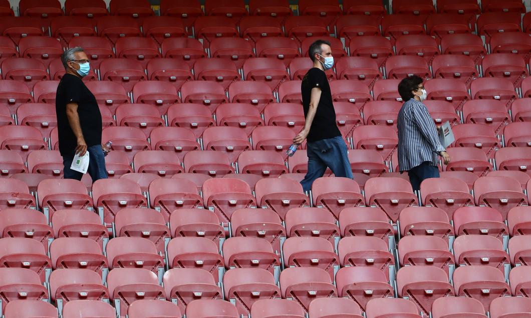 "Stadionul ""San Siro"", înaintea partidei amicale Inter - Pisa / Foto: Getty Images"