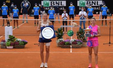 Tennis, Karolina Pliskova vs Simona Halep - Finale Femminile - Internazionali BNL d'Italia 2020