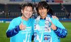 Kazuyoshi Miura și Shunsuke Nakamura