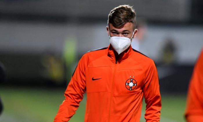 Ovidiu Perianu, mijlocașul de la FCSB, înaintea partidei cu FC Argeș / Foto: Sport Pictures