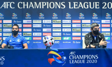 (SP)QATAR DOHA FOOTBALL AFC CHAMPIONS LEAUGE GROUP B AL HILAL SFC VS PAKHTAKOR