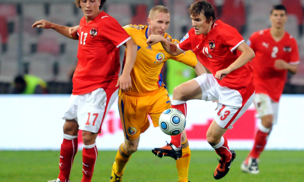 2.FOTBAL:ROMANIA-AUSTRIA 1-1,PRELIMINARIILE C.M. 2010 (9.09.2009)