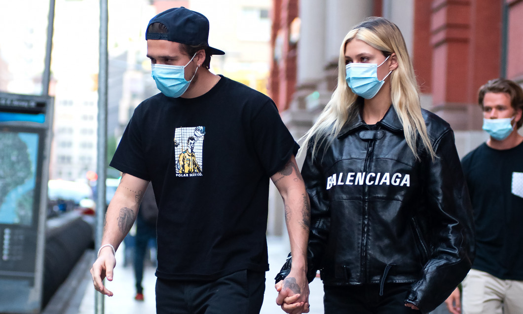 Brooklyn Beckham and Nicola Peltz Sighting in NYC